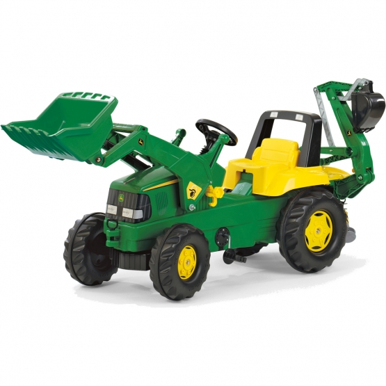 rollyJunior John Deere Backhoe Loader