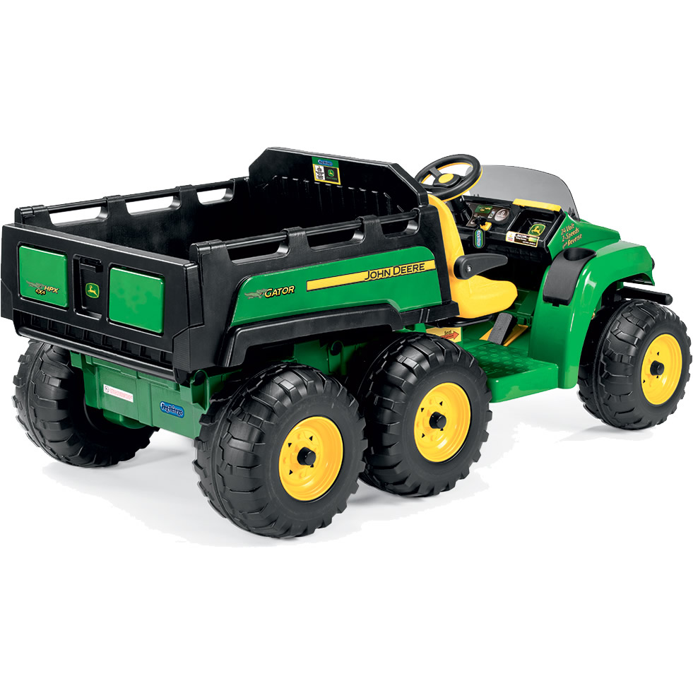 elektro pick up john deere gator hpx 6x4 buy rolly toys. Black Bedroom Furniture Sets. Home Design Ideas