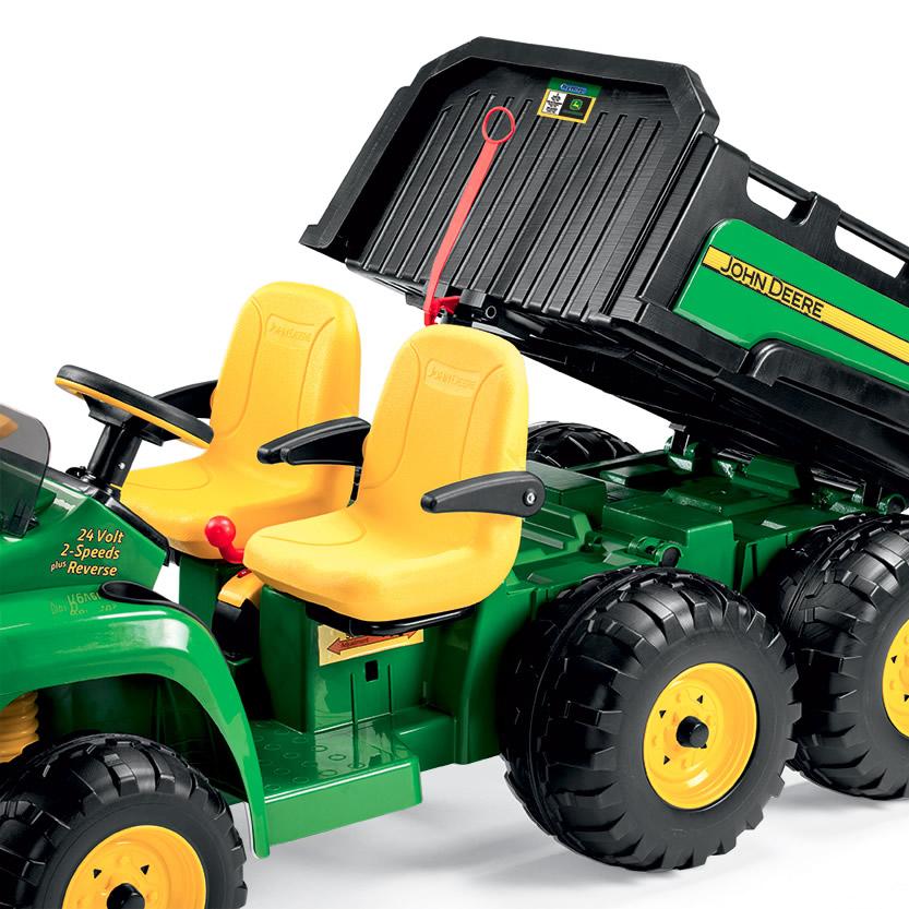 elektro pick up john deere gator hpx 6x4 rolly toys bei traktorenshop ch kaufen. Black Bedroom Furniture Sets. Home Design Ideas