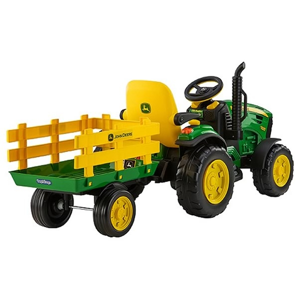 elektro traktor john deere ground force bei. Black Bedroom Furniture Sets. Home Design Ideas